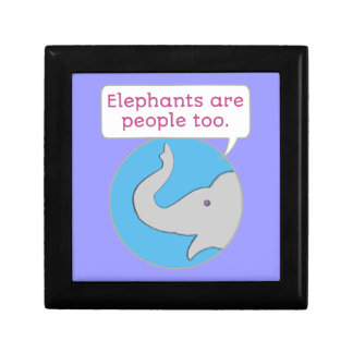 Elephants are People Too Gift Box