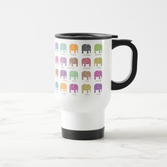 Elephants are your best friends Travel MUG