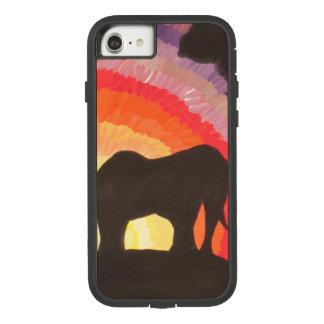 Elephants at Sunset (Kimberly Turnbull Art) Case-Mate Tough Extreme iPhone 8/7 Case