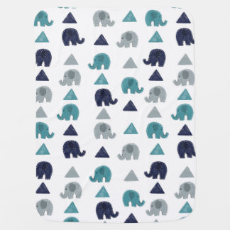 Elephants Baby Blanket