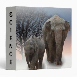 Elephants Binder