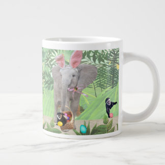 Elephants Easter Jumbo Mug