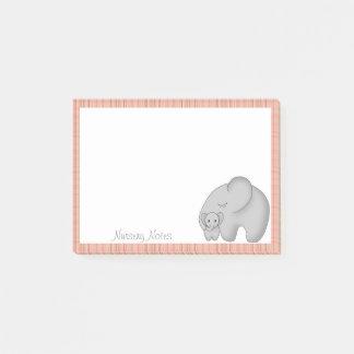 Elephants for New Mother or Nursery School Teacher Post-it Notes