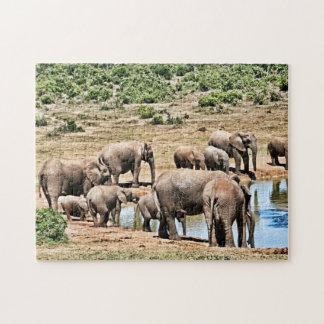 Elephants Jigsaw Jigsaw Puzzle