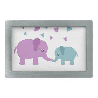 Elephants love belt buckle