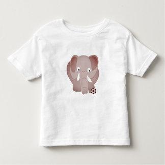 Elephants love football toddler t-shirt