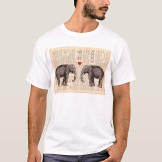 Elephants love - shirt