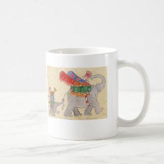 Elephants' Moving Day Coffee Mug