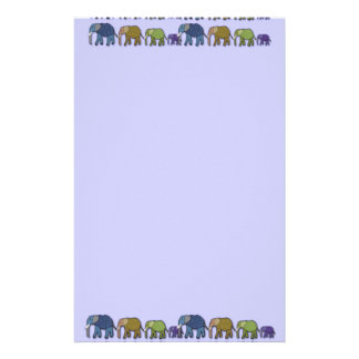 Elephants Never Forget Stationery