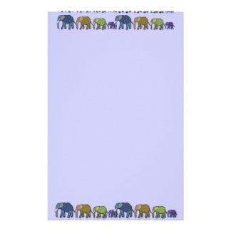 Elephants Never Forget Stationery