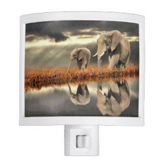 Elephants Nite Light