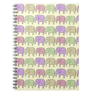 Elephants Notebook