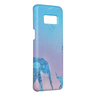 elephants phone case - spray paint