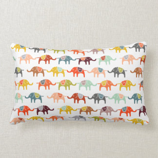 Elephants Pillow for Nursery or Kids' Room