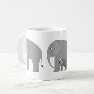 Elephants Plus One Mug