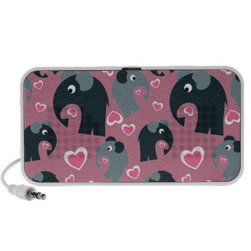 Elephants Portable Doodle Speaker