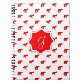 elephants RED RED RED.ai Notebook