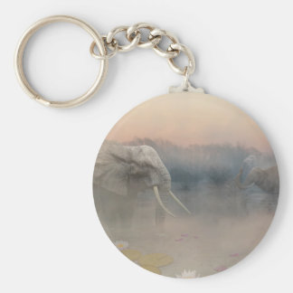 Elephants sanctuary keychain