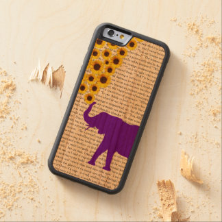 Elephants, Sunflowers & Jane Eyre Cherry iPhone 6 Bumper