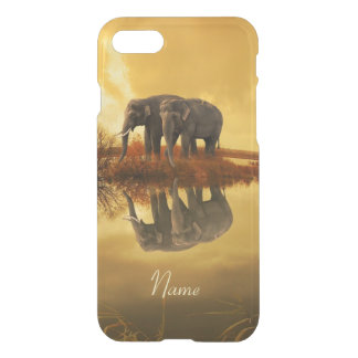 Elephants Sunset iPhone 8/7 Case