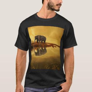 Elephants Sunset T-Shirt