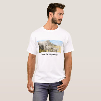 Elephants T shirt