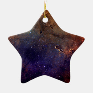 Elephant's Trunk Nebula Ceramic Star Ornament