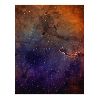 Elephant's Trunk Nebula Letterhead