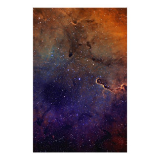 Elephant's Trunk Nebula Personalized Stationery