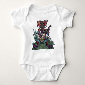 Eletreephrog with Fiddle - Infant Creeper