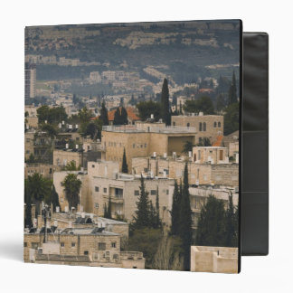 Elevated city view from Jerusalem YMCA tower Binders
