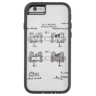 Elevated Railway - Mary Walton, Inventor Tough Xtreme iPhone 6 Case