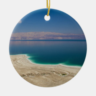 Elevated view of the Dead Sea Ceramic Ornament