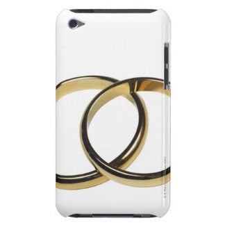 Elevated view of wedding rings iPod Case-Mate cases