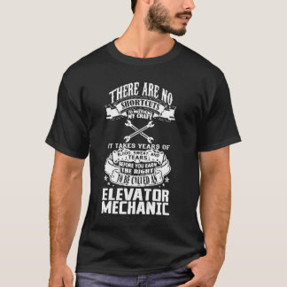 Elevator Mechanic T-Shirt