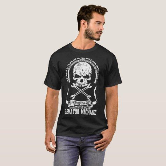 Elevator Mechanic Tshirt