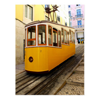 Elevator of the Pipe, Lisbon, Portugal Postcard