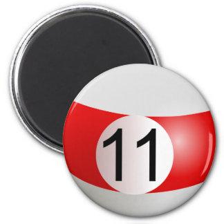 Eleven Ball Magnet