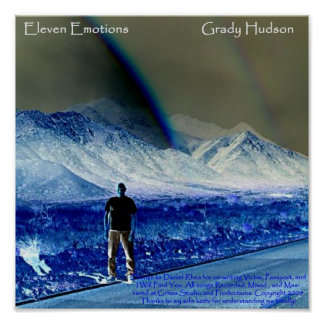 Eleven Emotions Grady Hudson Album Cover Poster