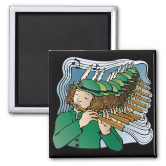 Eleven pipers piping magnet