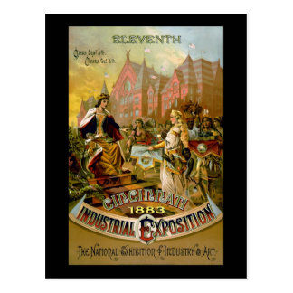 Eleventh Cincinnati Industrial Exposition Postcard