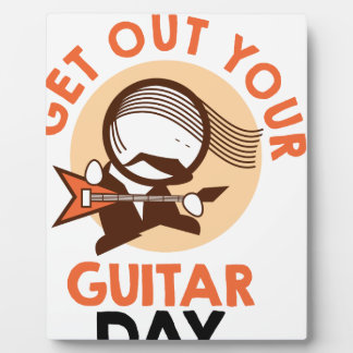 Eleventh February - Get Out Your Guitar Day Plaque