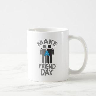 Eleventh February - Make a Friend Day Coffee Mug