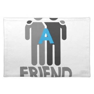 Eleventh February - Make a Friend Day Placemat