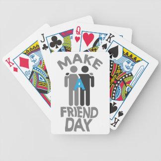Eleventh February - Make a Friend Day Poker Deck