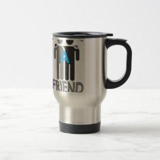 Eleventh February - Make a Friend Day Travel Mug