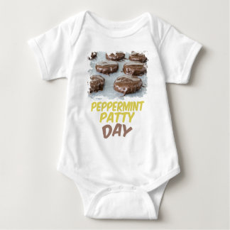 Eleventh February - Peppermint Patty Day Baby Bodysuit