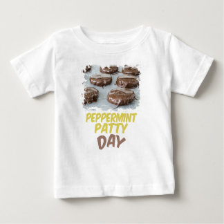 Eleventh February - Peppermint Patty Day Baby T-Shirt