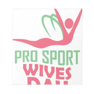 Eleventh February - Pro Sports Wives Day Notepad