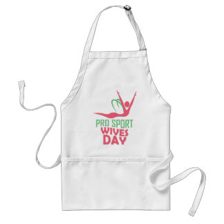Eleventh February - Pro Sports Wives Day Standard Apron